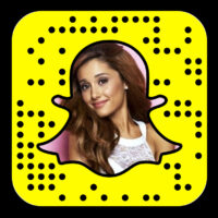 Ariana Grande is on Snapchat as Moonlightbae
