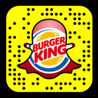 Burger King is on Snapchat