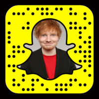 Ed Sheeran is on Snapchat as TeddysDayToday