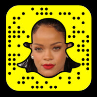 Rihanna is on Snapchat