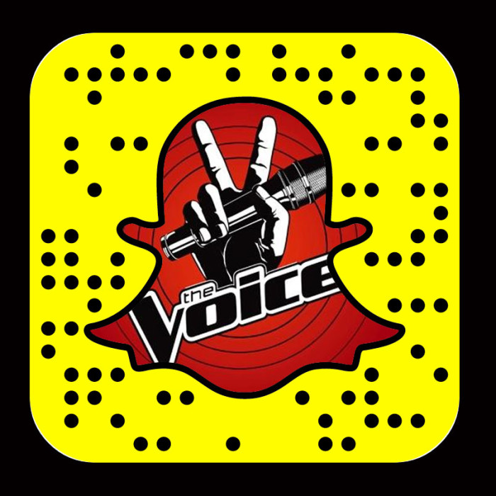 NBC The Voice in on Snapchat