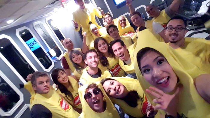 Why Are These Snappchatters Dressed Up Like Bananas?