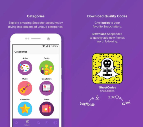 Get Access & Join the Largest, Categorized Snapchat BooR Codes