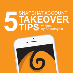 5 Snapchat Account Takeover Tips