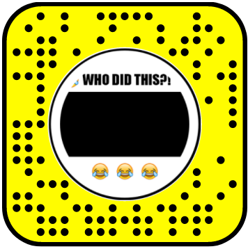 Who Did This? Snapchat Lens 2D Filter