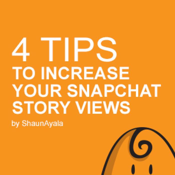 Story views snapchat SnapStoryViews