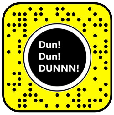 Dun DUN DUN Zoom In Snapchat Lens