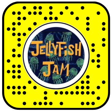 Jelly Fish Jam Snapchat Lens