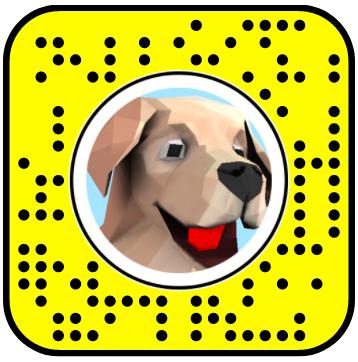 Kenneth The Dog Snapchat Lens