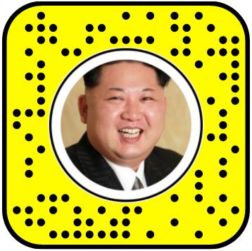 Dancing Kim Jung Un Snapchat Lens