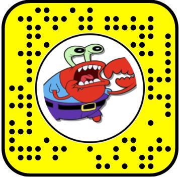 Oh Yah Mr. Krabs Snapchat Lens