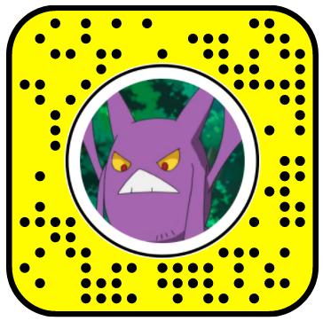 Bat Pokemon Pack Snapchat Lenses