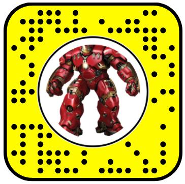 Jumping Hulkbuster Snapchat Lens