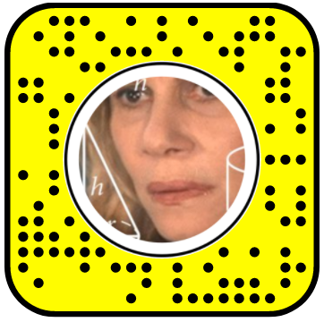 Confused Math Lady 2D Snapchat Lens