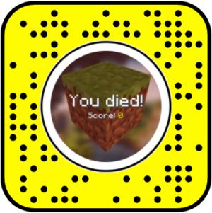 Snapchat mine filter