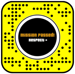 GTA Mission Passed 2D Tap Snapchat Lens – The 11th Second: #1 Source