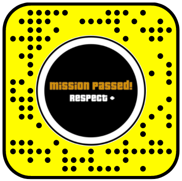 GTA Mission Passed 2D Tap Snapchat Lens