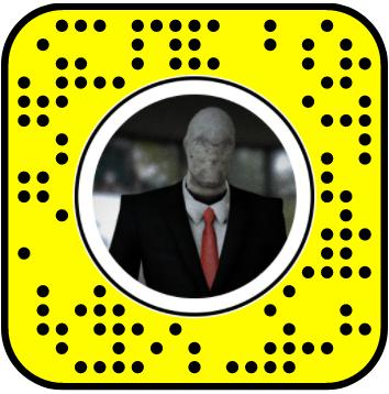 Dancing Slender Man Snapchat Lens