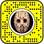 Friday the 13th Jason 3D Snapchat Lens