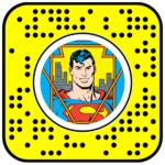 DC Superman Comic Book Portal Lens
