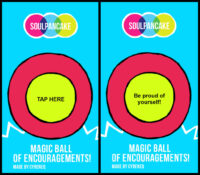 Magic Ball of Encouragements Game