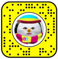 I Am a Snowman Snapchat Face Lens
