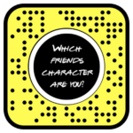 Which FRIENDS Character Are You? Filter Lens